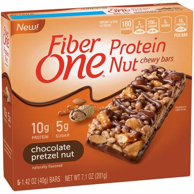 Fiber One Chocolate Pretzel Nut Protein Nut Chewy Bars
