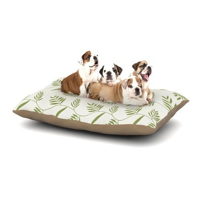 East Urban Home Snap Studio 'Ferngully' Dog Pillow with Fleece Cozy Top Size: Large (50