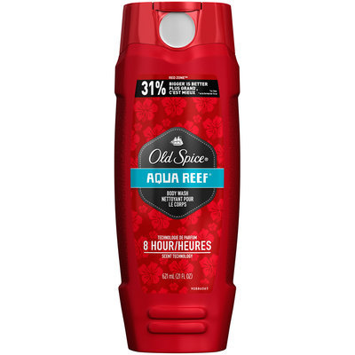 Red Zone Old Spice Body Wash Red Zone Aqua Reef 21 oz (621ml)