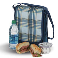Freeport Park Plaid Insulated Lunch Bag
