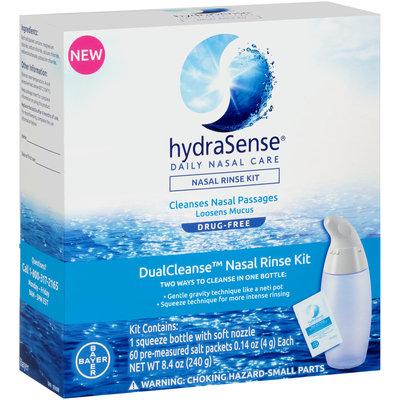 HydraSense® DualCleanse™ Nasal Rinse Kit 8.4 oz. Box