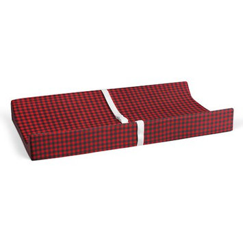 Harriet Bee Plumwood Flannel Check Changing Pad Cover