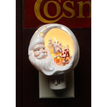 Cosmosgifts Santa House Plug-In Night Light