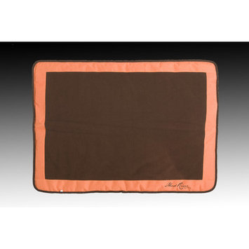 Mud River Cache Cushion, Brown/Orange