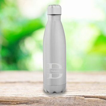 Jds Personalized Gifts Personalized 17 oz. Stainless Steel Water Bottle Design: Stamped