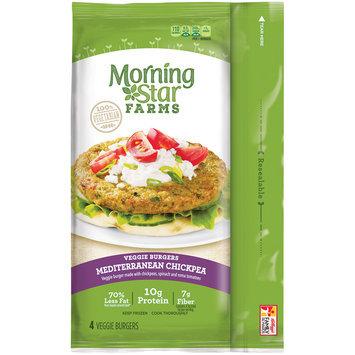 MorningStar Farms® Mediterranean Chickpea Veggie Burgers 9.5 oz. Pack