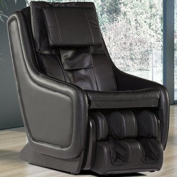 Human Touch ZeroG 3.0 Leather Zero Gravity Massage Chair Upholstery: Black