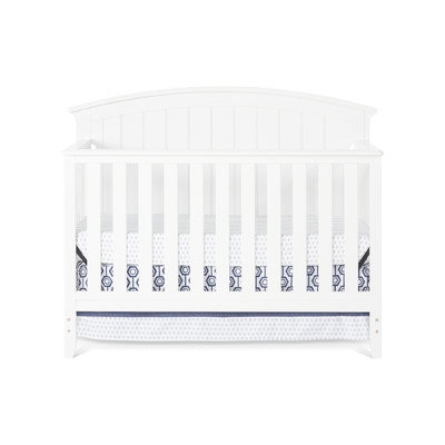 Child Craft Delaney 4-in-1 Convertible Crib Finish: Matte White
