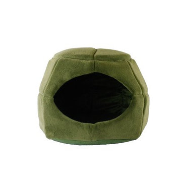 Precioustails 2 in 1 Honeycomb Hut Cuddler Hooded Color: Sage