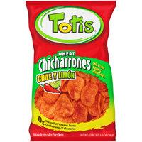 Totis® Wheat Chicharrones Chili & Lime Flavored Wheat Snack 5.35 oz. Bag