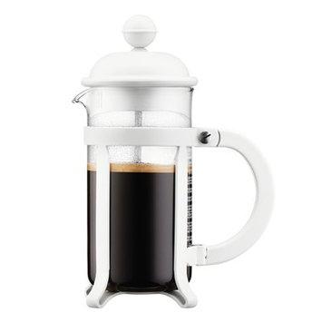 Bodum 8 Cup Java French Press Coffee Maker, 34 oz, White
