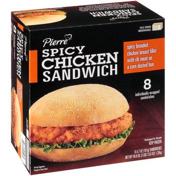 Pierre™ Spicy Chicken Sandwich 45.6 oz. Box