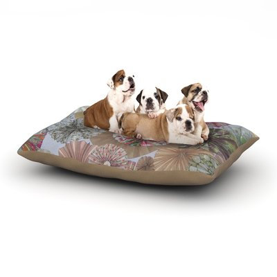 East Urban Home Heidi Jennings 'Pink Lady' Dog Pillow with Fleece Cozy Top Size: Large (50