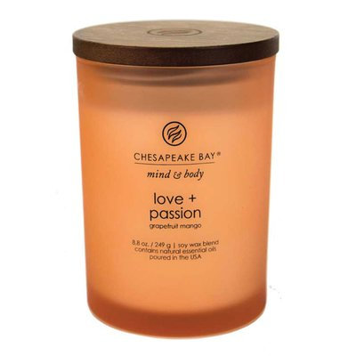 Chesapeake Bay Candles Mind & Body Love and Passion Jar Candle Size: Medium