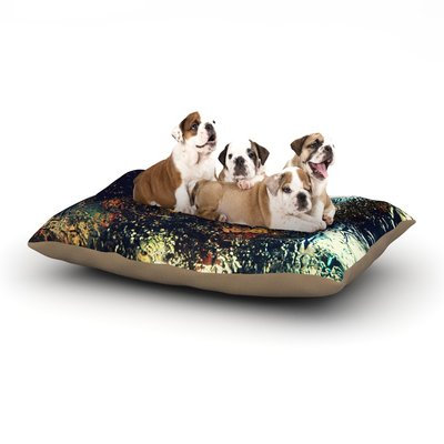 East Urban Home Robin Dickinson 'Blinded' Water Dog Pillow with Fleece Cozy Top Size: Large (50
