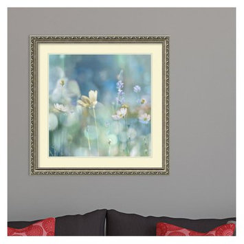 Red Barrel Studio Morning Meadow II (Floral) Framed Graphic Art