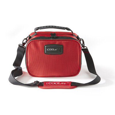 Icoolerllc Freezable Lunch and Beverage Bag Cooler Color: Red