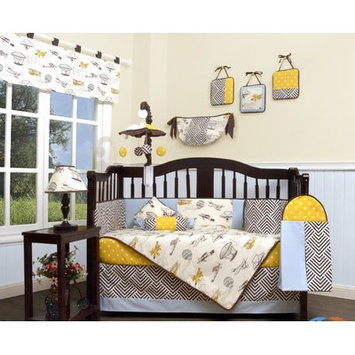 Geenny Air Show Airplane 13 Piece Crib Bedding Set