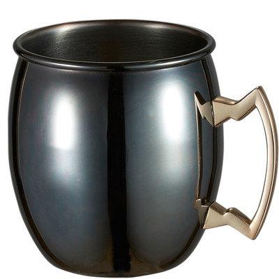 Visol Products Visol Kremlin Gun Metal Finish Moscow Mule Mug, Gray