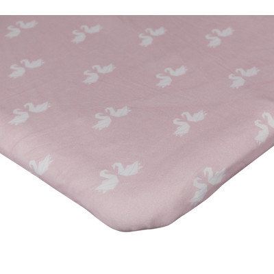 Livingtextilesbaby Paper Swans Change Pad Cover