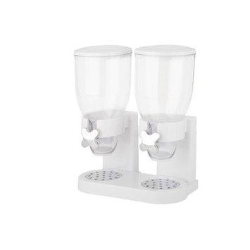 Zevro The Original Indispensable Double Dispenser Color: White