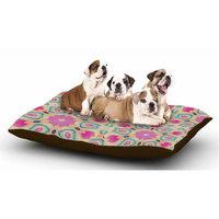 East Urban Home Nika Martinez 'Arabesque' Dog Pillow with Fleece Cozy Top