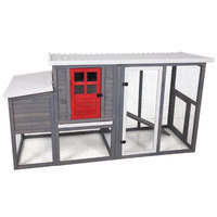 Precision Pet Door Hen House II Chicken Coop with Nesting Box and Roosting Bar