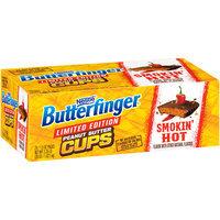BUTTERFINGER PEANUT BUTTER CUPS Smokin' Hot 1.5 oz Bag, 24 ct Carton