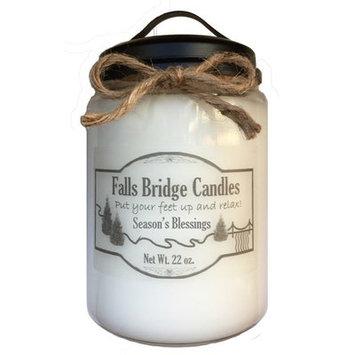 Fallsbridgecandles Seasons Blessings Scented Jar Candle Size: 6.5
