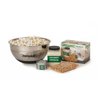 Wabash Valley Farms Whirley-Pop Popcorn and Bowl Gift Set