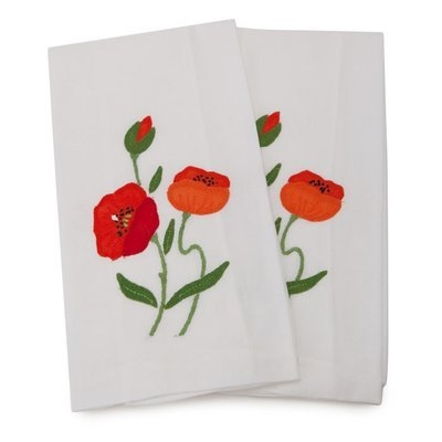 Gerbrend Creations Inc. Poppy Guest Hand Towel