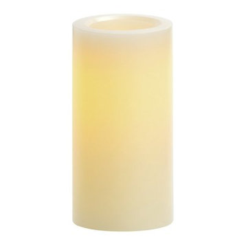 Winston Porter Vanilla Scented Flameless Candle Size: 8