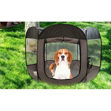 Precioustails Pop Open Collapsible Travel Pet Pen Size: 29
