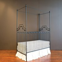 Bratt Decor Parisian 9-in-1 Convertible Crib Finish: Black