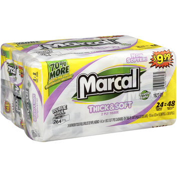 Marcal® Thick & Soft 2-Ply Bathroom Tissue 24 ct Pack
