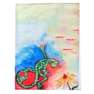Betsy Drake Interiors Gecko Hand Towel