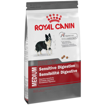 Royal Canin Medium Sensitive Digestion Dog Food 17 lb. Bag