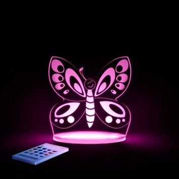 Lumenico Aloka Starlights LED Butterfly Night Light with Remote Control