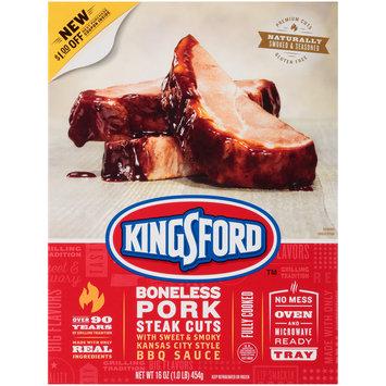 Kingsford™ Boneless Pork Steak Cuts 16 oz. Pack