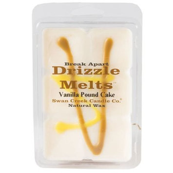 Swan Creek Candle Co. Drizzle Melts Scented Melting Wax - Vanilla Pound Cake