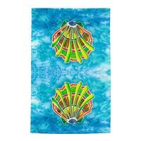 Live Free Shell Full Face Hand Towel