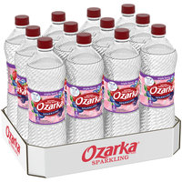 Ozarka Sparkling Natural Spring Water Triple Berry 1L Bottle Pack