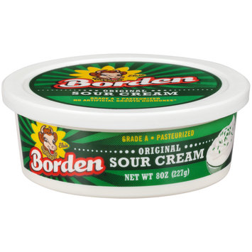 Borden® Original Sour Cream 8 oz. Tub