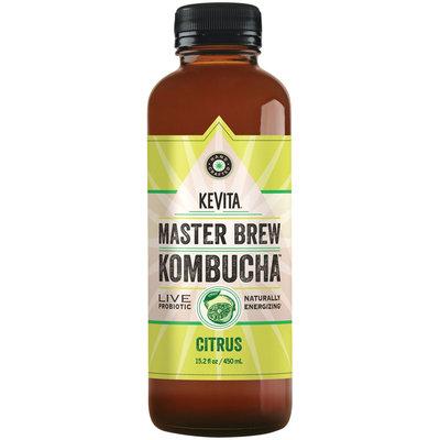 Kevita® Master Brew Kombucha™ Citrus Live Probiotic Drink 15.2 fl. oz. Bottle