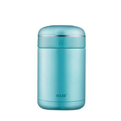 Relea Double Wall 18 Oz. Food Storage Container Color: Blue
