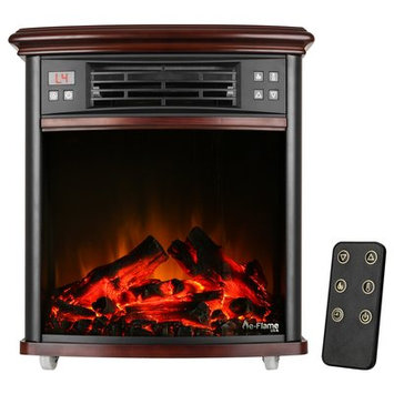 E-flame Portable Electric Fireplace Insert Only