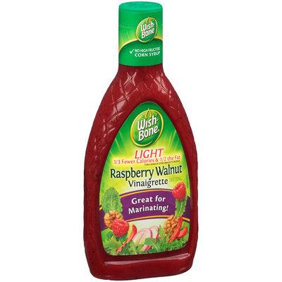 Wish-Bone® Light Raspberry Walnut Vinaigrette Dressing 15 fl. oz. Bottle