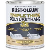 Rust-Oleum Triple Thick Polyurethane Quart, Semi-Gloss