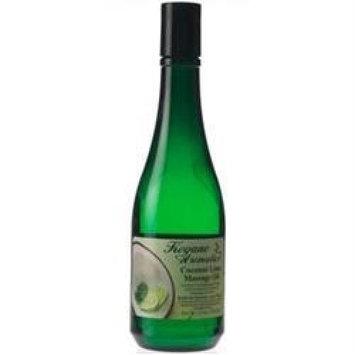 Keyano Coconut Lime Shower Gel 12 oz