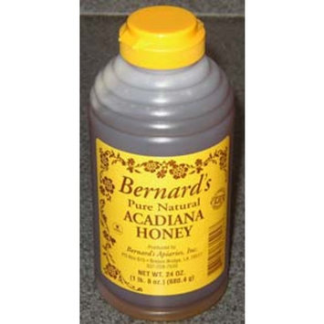 Bernard's Pure Natural Acadiana Honey, 24.0 OZ